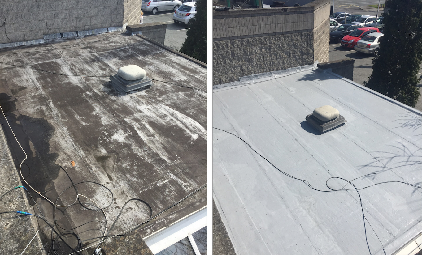 Gaco Flat Roofing Solutions
